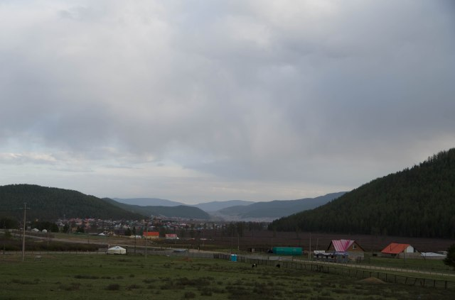 The valley looking to Ulaanbaatar.
