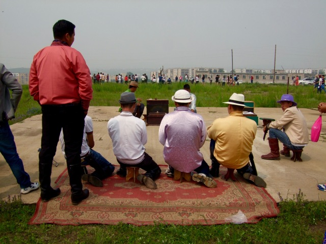 Men playing shagai.